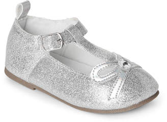 First Steps (Toddler Girls) Glitter T-Strap Mary Jane Shoes