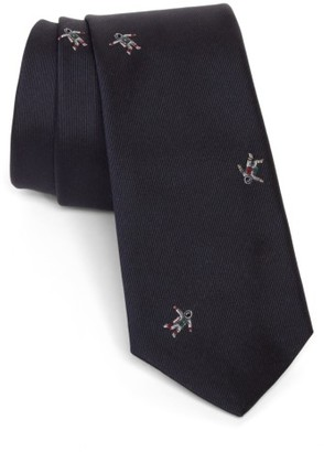Men's Paul Smith Embroidered Astronaut Silk Tie $125 thestylecure.com