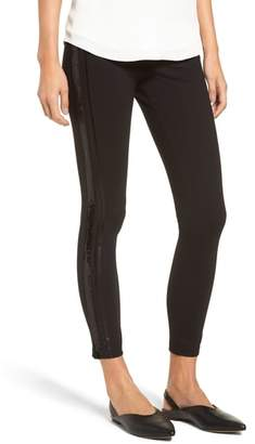 ZEZA B BY HUE Lux Tux Ponte Knit Leggings
