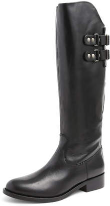 Andre Assous Roma Leather Riding Boot, Black $179 thestylecure.com