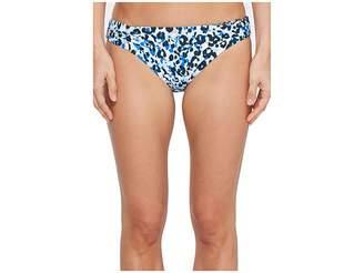 Splendid Tropic Spots Reversible Retro Bikini Bottom Women's Swimwear