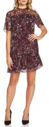 CeCe Floral Mystery Shift Dress