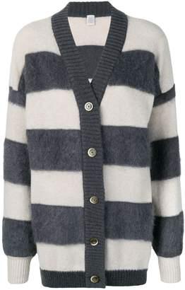Eleventy striped midi cardigan