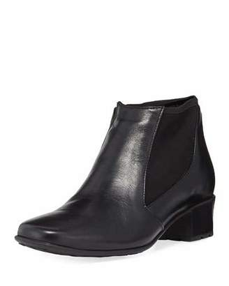 Sesto Meucci Yuma Zip-Up Gored Booties, Black