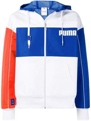 Puma zip front hoodie