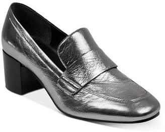 Marc Fisher Women's Hudson Block Heel Loafers