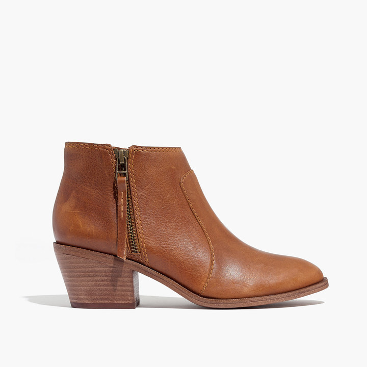 The Janice Boot in Leather