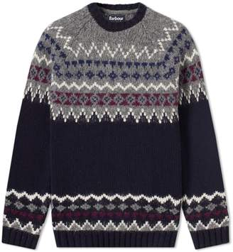 Barbour Wetheral Fair Isle Crew Knit