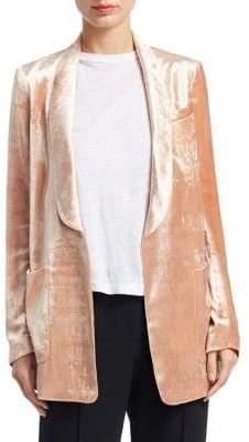 A.L.C. (エーエルシー) - A.L.C. A.L.C. Women's Ford Velvet Open Blazer - Rose - Size 2