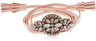 Shourouk Mini Bal Alcantara Bracelet