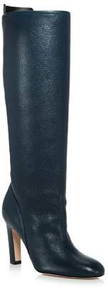 Stuart Weitzman Women's Charlie Pointed-Toe Knee-High Leather High-Heel Boots - 100% Exclusive