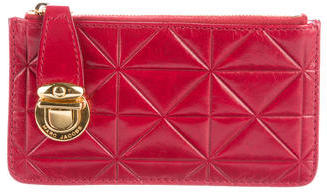 Marc Jacobs Marc Jacobs Quilted Leather Coin Pouch