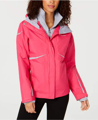 Columbia Blazing Star Waterproof Fleece-Lined Jacket
