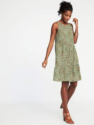 Old Navy Sleeveless Tiered Swing Dress for Women