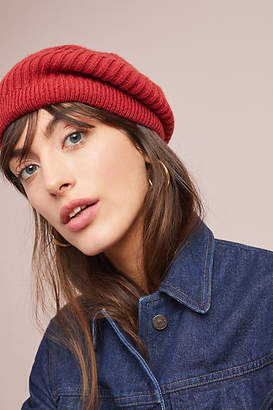 Anthropologie Yasmin Ribbed Beret