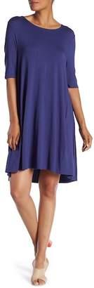 Joan Vass Solid Swing Dress