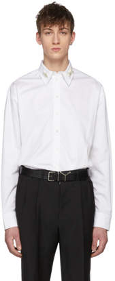 Y/Project White Insect Collar Shirt