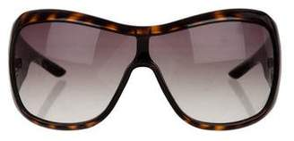 Christian Dior Oversize Cannage Sunglasses