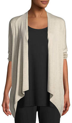 Eileen Fisher 3/4-Sleeve Lightweight Cozy Cardigan