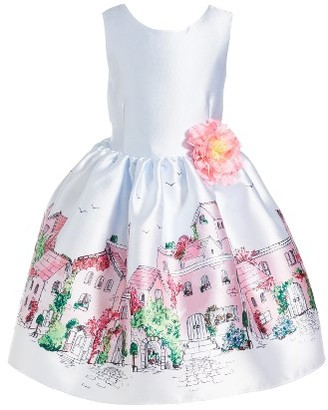 Toddler Girl's Pippa & Julie Graphic Print Sleeveless Dress $58 thestylecure.com