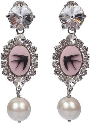 Miu Miu Crystal Earrings
