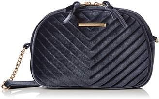 Dorothy Perkins Womens Velvet Camera Shoulder Bag