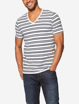 Tommy John Tommyjohn Second Skin Stripe V-Neck Tee