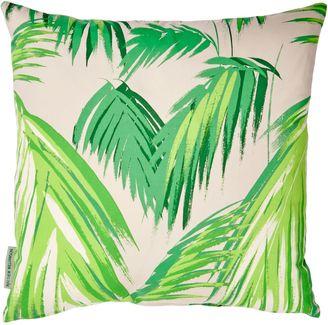 Grey Tropicana Palm Cushion