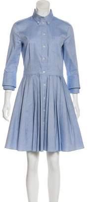 Michael Kors Knee-Length Pleated Dress