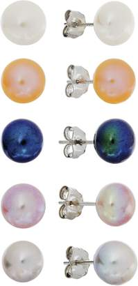 Revere Silver Cultured Freshwater Pearl Studs
