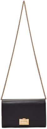 Victoria Beckham Black Chain Wallet Bag