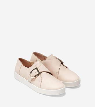 Cole Haan Women's GrandPr Spectator Monk Slip-On Sneaker