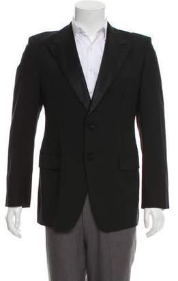Prada Wool Satin-Lapel Tuxedo Jacket