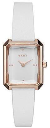 DKNY Women's 'Cityspire' Quartz Stainless Steel and Leather Casual Watch