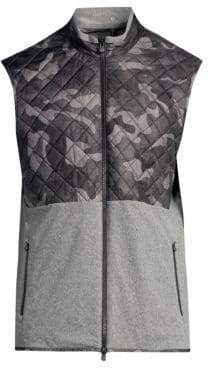Greyson Huron Quilted Camo Vest