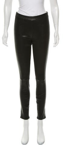 J Brand J Brand Leather Skinny Leggings