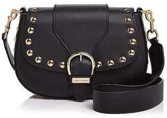 Marc Jacobs Navigator Studded Leather Saddle Bag