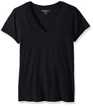 J.Crew Mercantile Women's Short Sleeve V-Neck T-Shirt,XXS