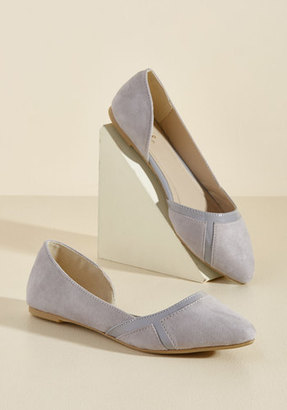 ModCloth This Too Shall Sass Flat in Pebble in 6.5 $34.99 thestylecure.com