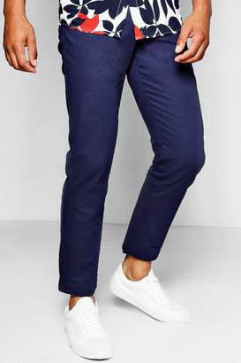 boohoo Straight Leg Chino With Stretch