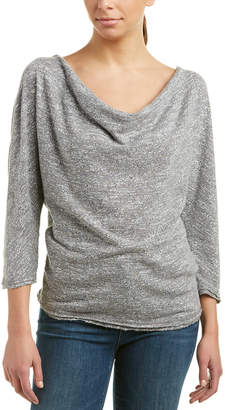 Three Dots Drape Top