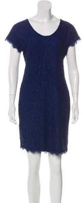 Diane von Furstenberg Lace Zip-Up Dress w/ Tags