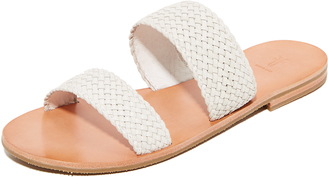 Frye Ruth Woven Wrap Sandals $198 thestylecure.com