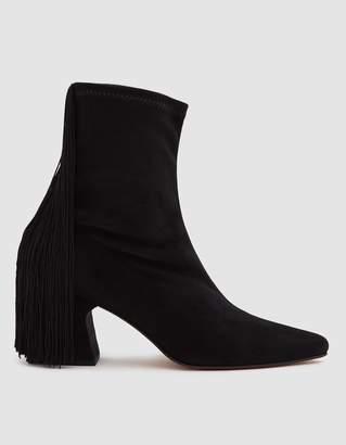 Rachel Comey Zaha Fringed Ankle Boot in Black