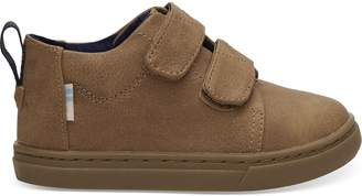 Light Twig Tiny TOMS Lenny Mid Sneakers