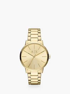 Armani Exchange AX2707 Women's Bracelet Strap Watch, Gold