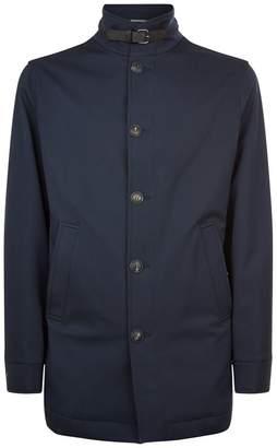 Pal Zileri Wool Blend Raincoat