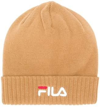 Fila logo knitted beanie