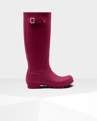 Hunter women's original tall disney print wellington boots