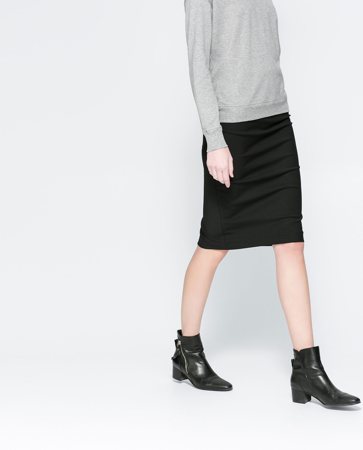 Zara Midi Tube Skirt